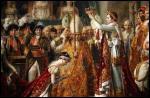 La cérémonie du sacre de l'empereur s'est déroulée le 2 décembre 1804 à Notre-Dame de Paris en présence du pape Pie VII. Cet évènement a été immortalisé par ce célèbre tableau de David. Sur la tête de quelle impératrice Napoléon 1er s'apprête-t-il à poser la couronne impériale ?