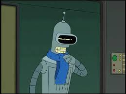 Ce personnage est Bender.