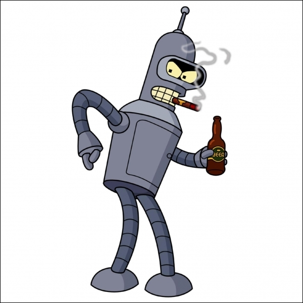 Bender a déjà accouché d'une petite blonde.
