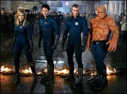 Comment s'appellent l'homme-torche et l'homme élastique dans «Les Quatre Fantastiques» ?