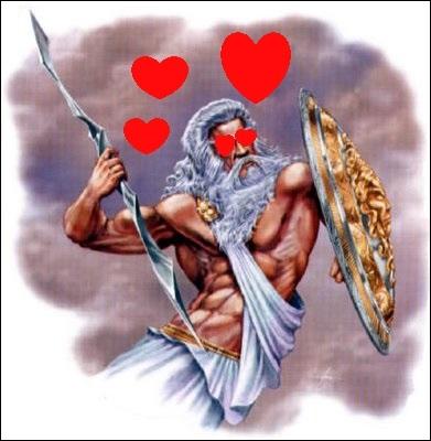 En quoi Zeus s'est-il transformé pour séduire Io ?