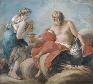 Qui sur l'Olympe verse le nectar aux dieux ?
