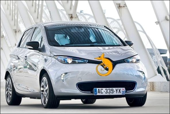 Lequel de ces constructeurs assemble ce petit véhicule électrique, quatrième chaînon de la famille ZE  Zéro Emission  ?