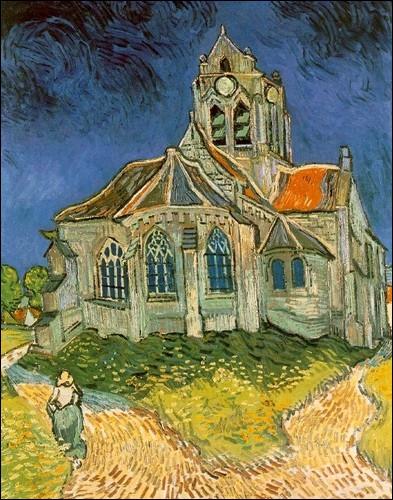 À quelle ville appartient cette ÉGLISE, que Van Gogh peignit en 1890 ?
