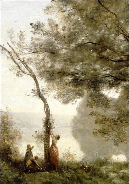 Quel est le nom de ce peintre, dont voici l'une des œuvres les plus connues, et qui faisait partie de ses peintres préférés ?