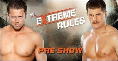 The Miz vs Cody Rhodes : qui est le vainqueur ? (Pre-show)