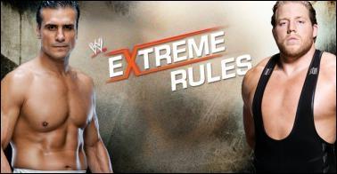 Alberto Del Rio vs Jack Swagger : qui est le vainqueur pour la place de challenger n°1 au championnat du monde poids lourds ? ( I Quit  match)