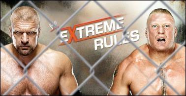 Triple H vs Brock Lesnar : qui est le vainqueur ? (Steel Cage match)
