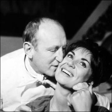 Elle était l'épouse de Bourvil, mais également celle de Fernandel dans ce film du réalisateur Gilles Grangier ... .