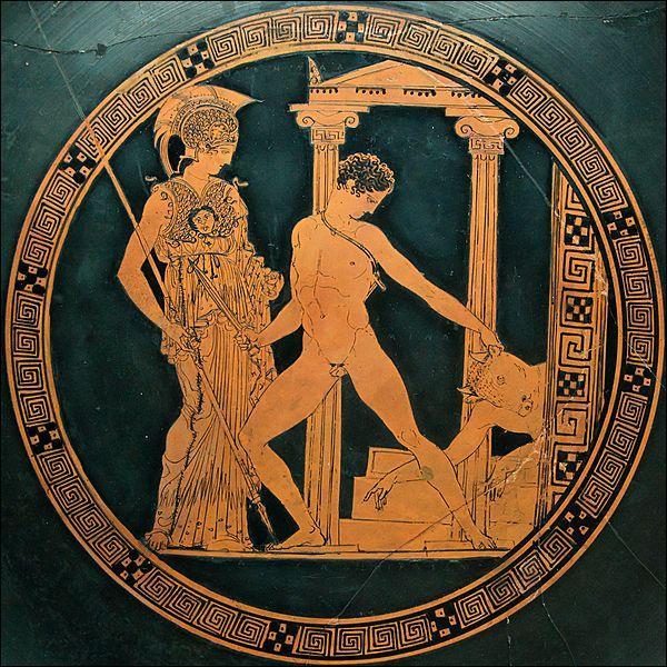 Le héros Thésée est fils d'Ethra et de :