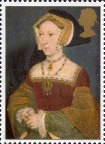 Edouard VI d'Angleterre, le fils de Henri VIII lui succéda à sa mort, qui était sa mère ?