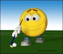 Quel sport fait ce smiley ?