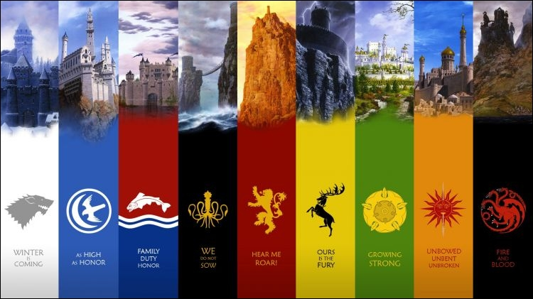Quelles sont les deux demeures principales des Targaryen ?