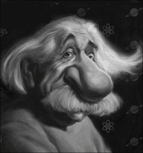 Un  monstre  de génie. Selon lui :  L'imagination est plus importante que le savoir ... ...