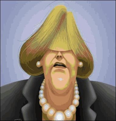 Dans son pays on l'appelle  Angie la déblayeuse  ... ...