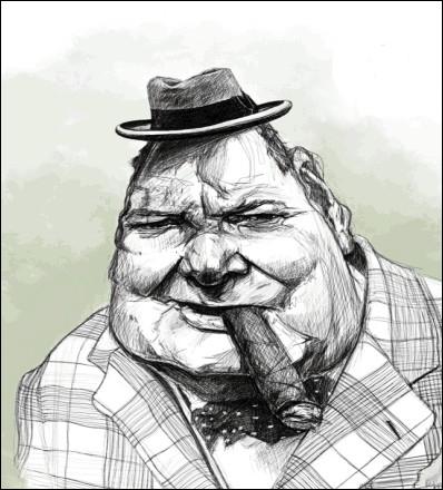 Ce grand fumeur de havanes avait parmi ses ancêtres un  paquet  de Marlboro(ugh)... .