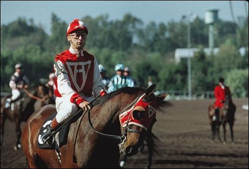 Qui est ce cheval de course ?
