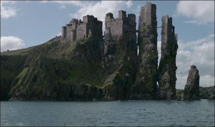Quelle est la demeure de la Maison Greyjoy ?