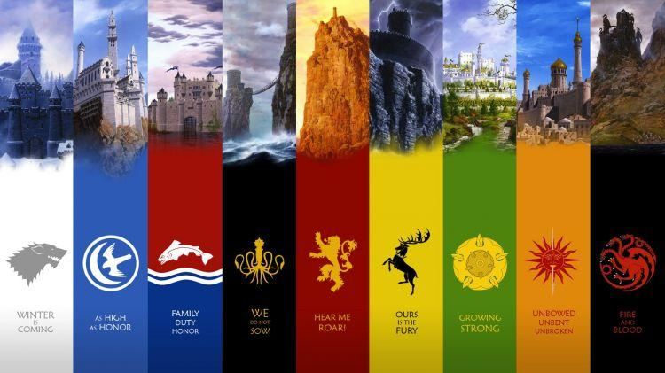 Game Of Thrones -Demeures des Maisons