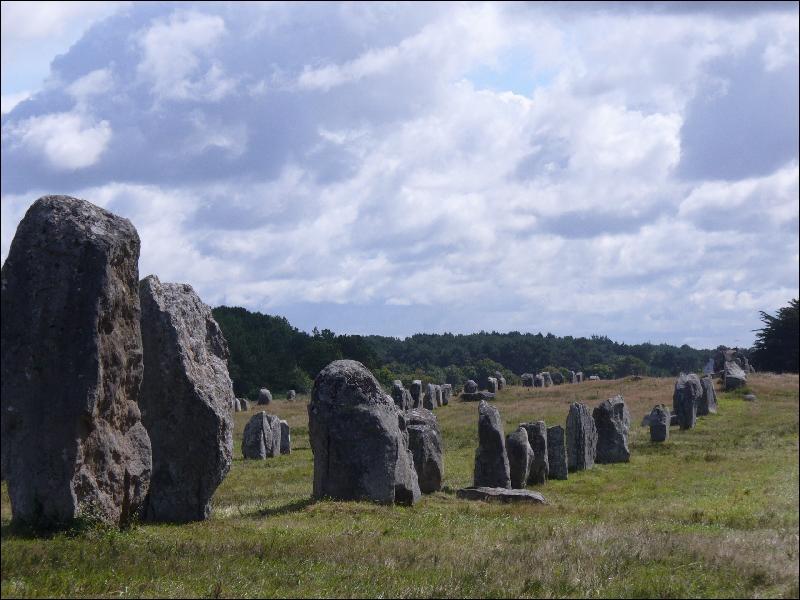Quelle hauteur atteint le plus haut des 2934 menhirs visibles à Carnac ?