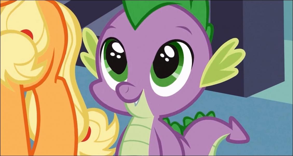 Avec quels animaux Spike se lie-t-il d'amitié ?
