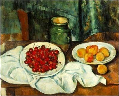 Ce tableau représentant des fraises et des abricots bien alléchants est le fruit du travail de :