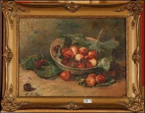 1831 - 1902. C'est un artiste peintre, et peintre décorateur belge. Il réalise principalement des natures mortes.