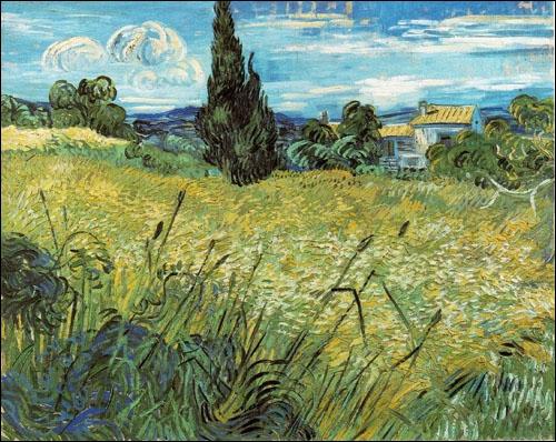 Vous donnerez facilement le nom de ce tableau de Van Gogh :