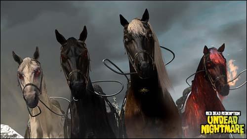 Les Quatre Cavaliers de l'Apocalypse sont des personnages célestes et mystérieux mentionnés dans le Nouveau Testament. Lequel était vert ?