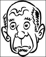 Qui est représenté sur cette caricature ?