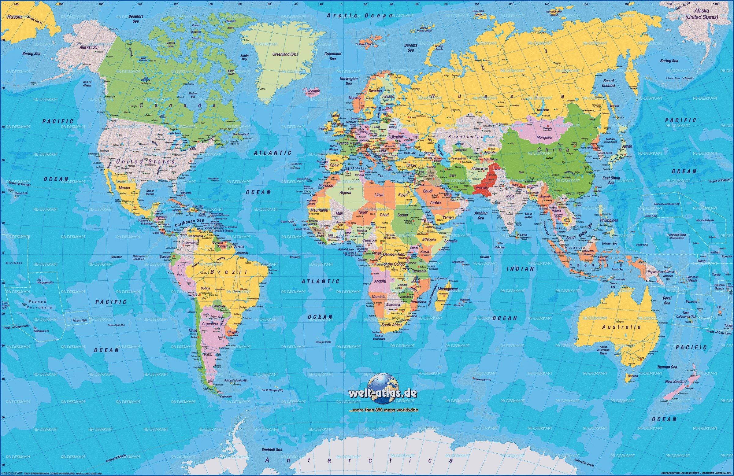 geographie du monde