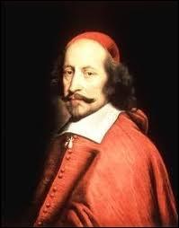 Louis XIV devient roi à l'âge de cinq ans. Deux personnes font la régence et préparent son règne, il s'agit de sa mère Anne d'Autriche et d'un cardinal. De qui s'agit-il ?