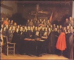 Quel traité est signé en 1648 et met fin à la guerre de Trente Ans ?