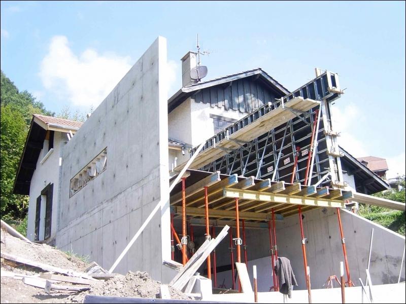 Assez Maison En Béton Banché - Inspiration du blog XW05