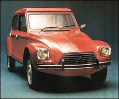 Citroën eut un jour l'idée de redessiner à la serpe la célèbre Deux chevaux, ce qui donna le joli prénom de... ?