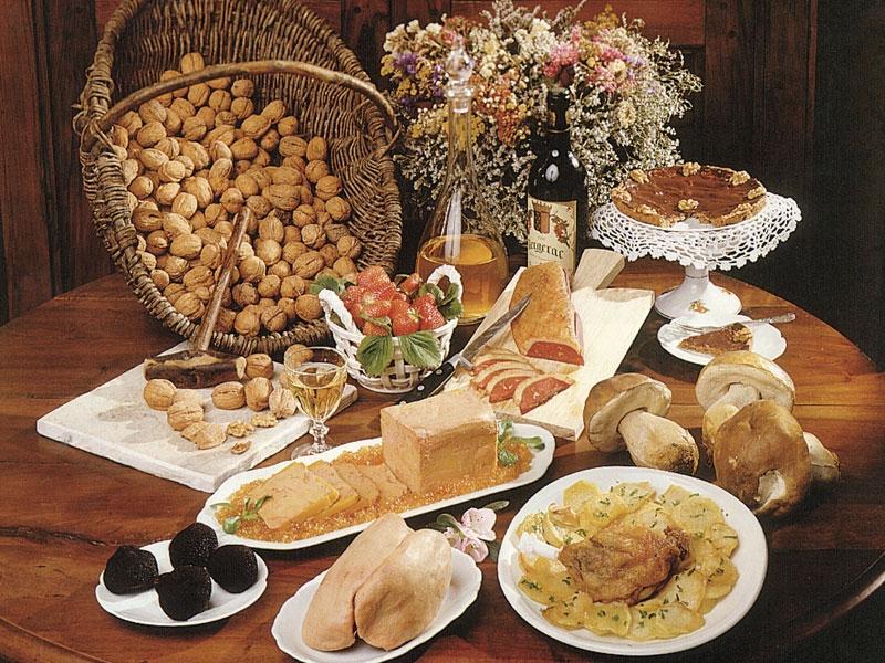 Un peu de gastronomie en Périgord