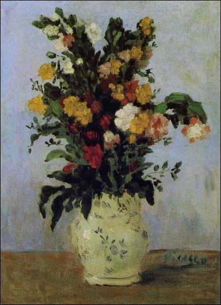 Vase de fleurs, 1901