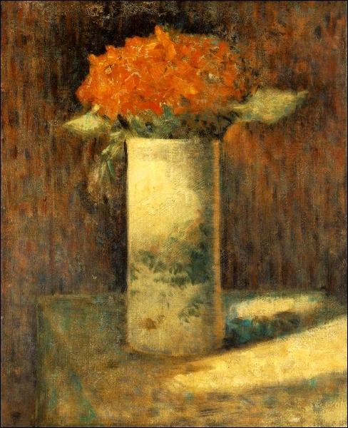 Vase de fleurs, 1878-79