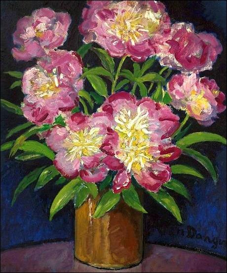 Bouquet de pivoines, 1933-34
