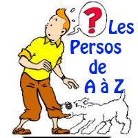 Tintin - Les personnages en T