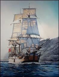 Quel était le vaisseau amiral de la flotte anglaise ?