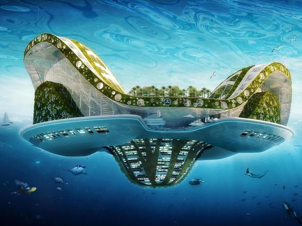 Lilypad, un projet de ville écologique