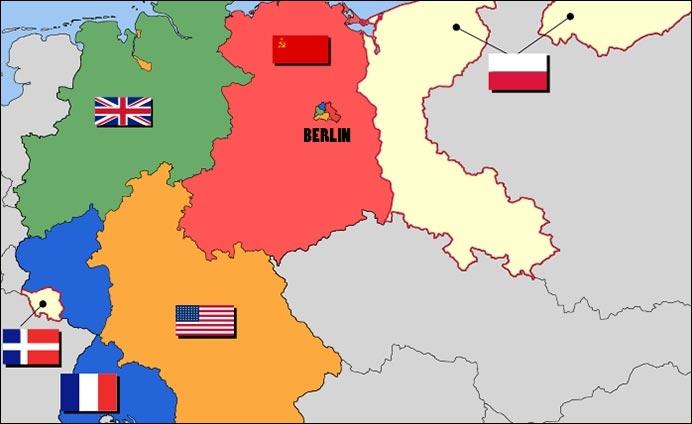 De quelle année date la réunification de l'Allemagne de l'Est avec l'Allemagne de l'Ouest ?