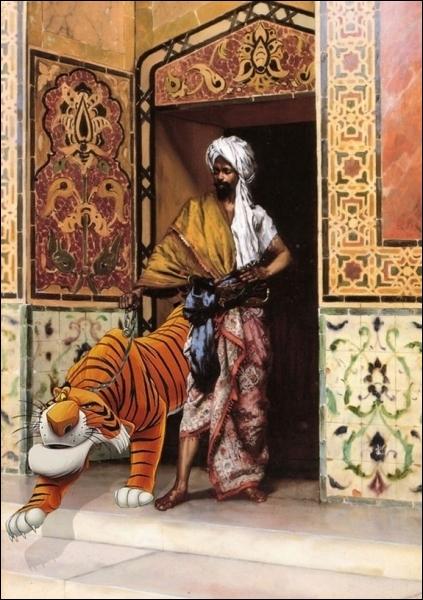 Dans quel dessin animé peut-on voir ce tigre ?