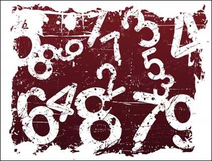 Le 5 est un chiffre, comment dit-on  chiffre  en anglais ?
