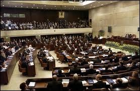 Comment s'appelle le système parlementaire à une seule chambre de l'État d'Israël siégeant à Jérusalem ?