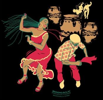 Quelle danse cubaine à deux temps est caractérisée par un déhanchement latéral alterné ?