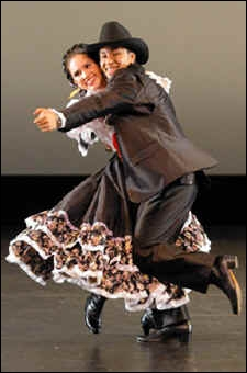 Quelle danse à deux temps originaire de Bohême, se dansant en couple sur des demi-pas rapides, peut être  piquée  ?