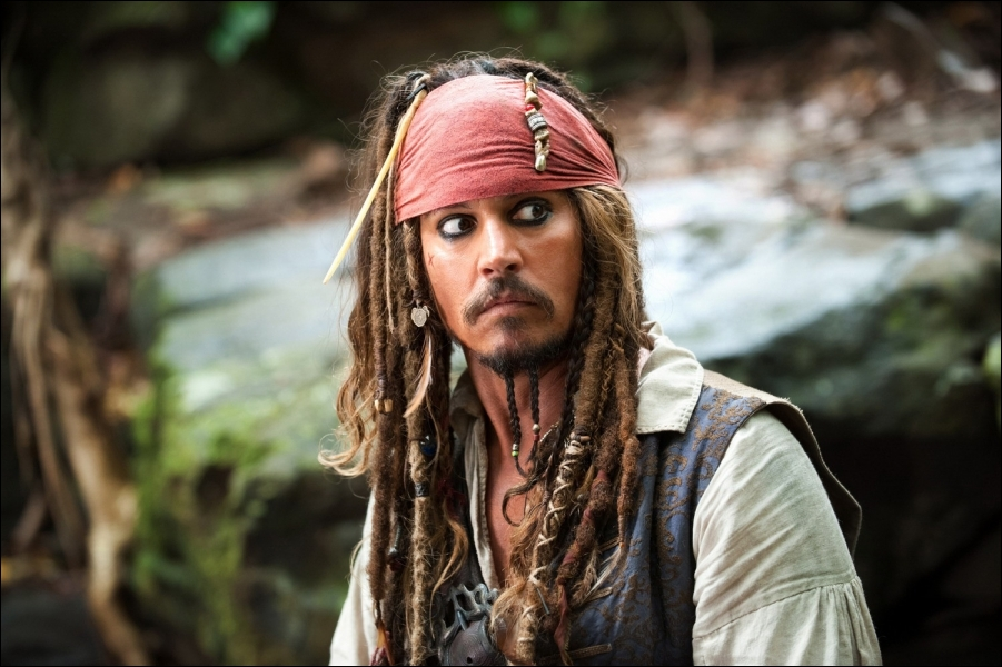 Cinéma : qui interprète Jack Sparrow ?