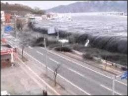 Le Japon est aussi victime d'importants raz-de-marée. Ce sont des :